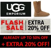 UGG Boots - Already up to 50% off - EXTRA 20% off CODE / FLASH SALE