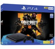 Sony 500GB Black PS4 with Call of Duty Black Ops 4 Only £249.98