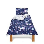 Magical Unicorn Duvet Cover Set Double