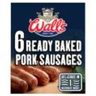 2 X Richmond Thick 8pk /Wall`s 6pk Sausages