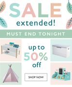 50% off Selected Products in Our Autumn Sale