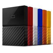 WD My Passport (Re-Certified) 2TB Portable Hard Drive HDD (Various Colours)