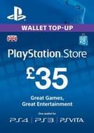 Playstation Network Card UK (PS Vita/PS3/PS4)