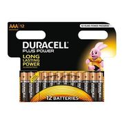 Cheapest DURACELL plus Power Batteries Pack of 12