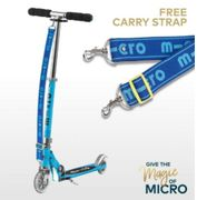 Free Carry Strap with Every Micro Sprite Scooter