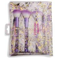 STAR BUY! Revolution Fortune Seeker Purple Glitter Brush Set