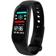 M3 0.96 Inch Sports Smart Bracelet Bluetooth 4.0 Heart Monitor Blood Pressure