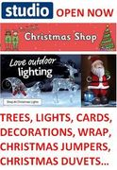 Studio Christmas Shop is Open!