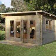 Forest Garden Melbury 44mm Log Cabin Only £2399.89