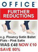 Office Shoes - FURTHER REDUCTIONS - Now 50%, 60%, 70%, Even 80% OFF!