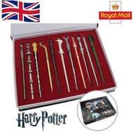 11 Harry Potter Wands!! Hermione Dumbledore Sirius Voldemort Fleur Etc!