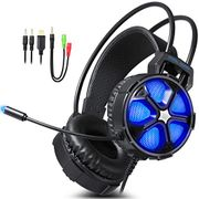 60% off PC Game Headset (Blue Color) Free Delivery with Amazon Prime