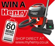 #WIN a Henry Cordless