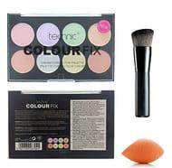 Technic 8 Colours Colour Fix Cream Corrector/Contour Palette + LyDia
