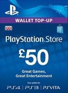 £50 PSN PlayStation Network Card (UK) 'SAVE £6.01'