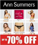 Ann Summers SALE - up to 70% Off
