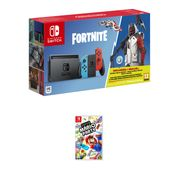 NINTENTDO SWITCH NEON with FORTNITE and SUPER MARIO PARTY Only £299.99