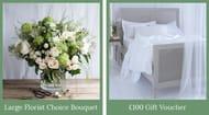 WIN a £100 Cologne & Cotton Gift Voucher and Large Florist Choice Bouquet