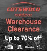 Warehouse CLEARANCE BARGAINS at Cotswold Outdoor - up to 70% OFF