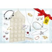 Luxury Pearl Shed Jewellery Advent Calendar with Freshwater Pearls