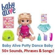 Baby Alive Potty Dance Baby Talking Baby Doll