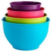 George Home Coloured Mixing Bowls