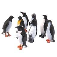 Cute Plastic Penguin Figures