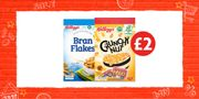 Crunchy Nut or Bran Flakes for Only £2!