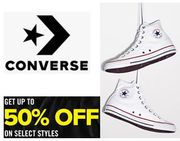 up to 50% OFF CONVERSE TRAINERS SALE
