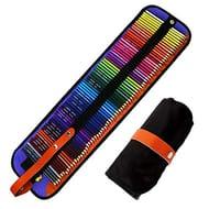 72 Pcs Colouring Pencils Set Aritist Grade Coloured Pencils with Nylon Case