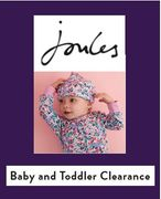 Baby and Toddler CLEARANCE at Joules- from £2.95