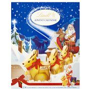 Lindt Advent Calendar Milk Chocolate, 160 G (Pack of 2)