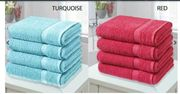 4 X Egyptian Cotton Bath Sheets - 10 Colours Go-groopie+4.99 Delivery