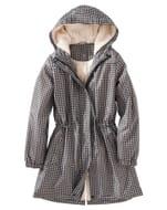 Half Price Fleece Lined Waterproof Parka & Matching Bag