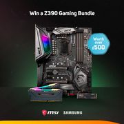 Win a Samsung & MSI Z390 Launch Bundle... worth over £500