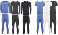 Group-On: Men's Short- or Long-Sleeved Thermal Underwear Set