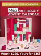 What's inside the M&S Beauty Advent Calendar 2018? Release Date?