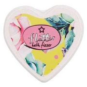 Superdrug Flutter Heart Shaped Bath Fizzer 65G