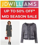 Mid Season SALE at JD Williams - up to 50% Off