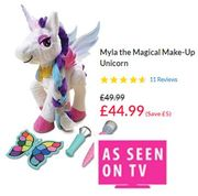 Myla the Magical Make-up Unicorn - A TOP TOY FOR CHRISTMAS 2018