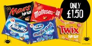 Halloween Fun Size Chocolate Favourites Are Only £1.50