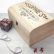 Engraved Christmas Chest ( LARGE )