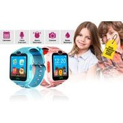 "Kid's 1.54"" Touch Screen Smartwatch Blue or Pink"
