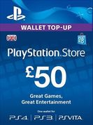 £50 PSN PlayStation Network Card (UK)