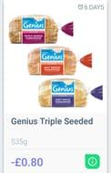 Genius Triple Seeded Bread