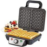 Waffle Maker 2 Slice Belgian Style Electric Machine