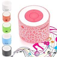 mini Portable Mp3 Player LED Speakers Wireless Hands Free Speaker
