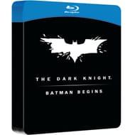 Batman Begins & the Dark Knight Double Pack Steelbook Blu-Ray