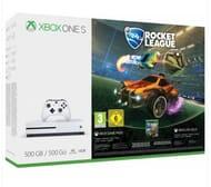 Microsoft Xbox One S 500GB Rocket League Blast-off Console Bundle £224.99
