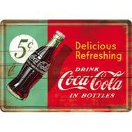 Nostalgic Art 10268 Coca Cola Delicious and Refreshing. Amazon